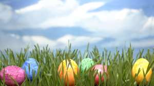 Hidden-Easter-Egg-On-The-Grass-Easter-Day-Wallpaper-HD