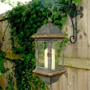 Salvage-chic-wall-lantern