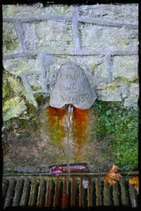 chalice well water