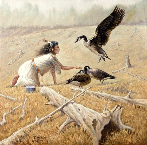 feeding-the-canadian-geese-gregory-perillo